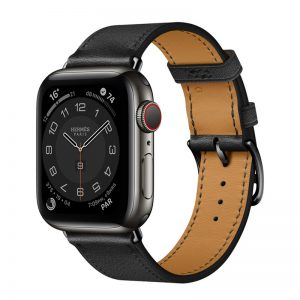 Apple Watch Hermès Series 6 Space Black Stainless Steel Case With Single Tour